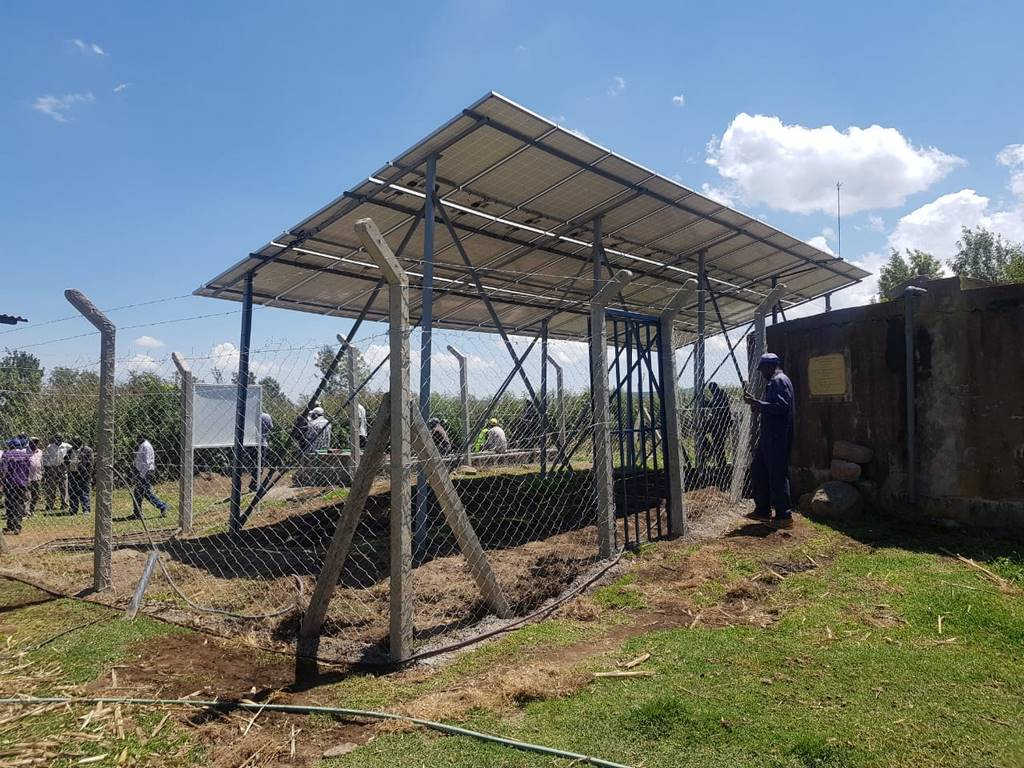 Nyeri County Retrofitting Boreholes with Solar PV Systems